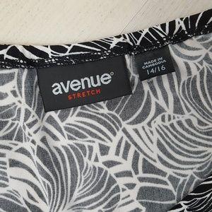 Avenue Tops - Avenue 3/4 Sleeve Tunic Top